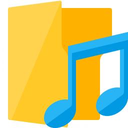 Folder 3 Music Icon 256x256
