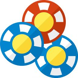 Gambling Chips Icon 256x256