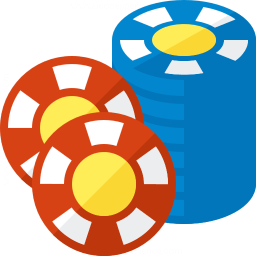 Gambling Chips 2 Icon 256x256
