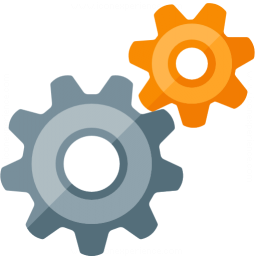Gearwheels Icon 256x256