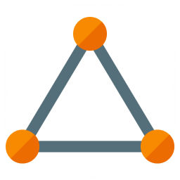 Graph Triangle Icon 256x256