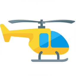 Helicopter Icon 256x256