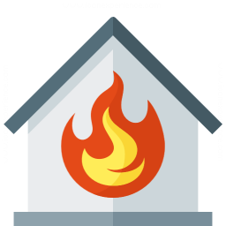 Iconexperience G Collection Home Fire Icon
