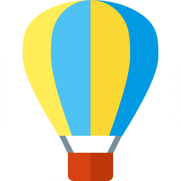Iconexperience G Collection Hot Air Balloon Icon