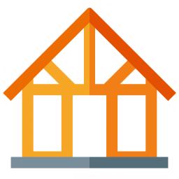 House Framework Icon 256x256