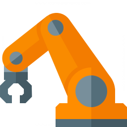 Industrial Robot Icon 256x256