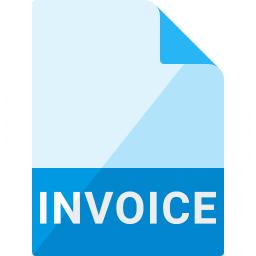 Invoice Icon 256x256