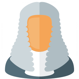 Judge Wig Icon 256x256