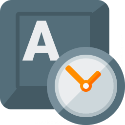 Iconexperience G Collection Keyboard Key Clock Icon