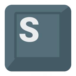 Keyboard Key S Icon 256x256