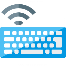 Keyboard Wireless Icon 256x256
