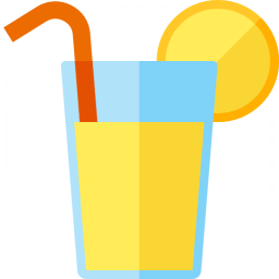 Lemonade Glass Icon 256x256