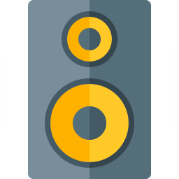 Loudspeaker Box Icon 256x256