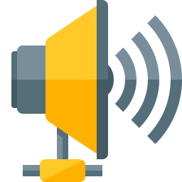 Loudspeaker Network Icon 256x256