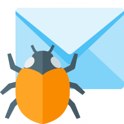Mail Bug Icon 256x256