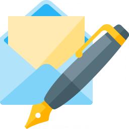 Mail Write Icon 256x256