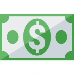 Money Dollar Icon 256x256