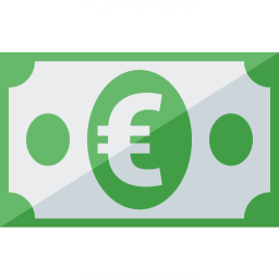 Money Euro Icon 256x256