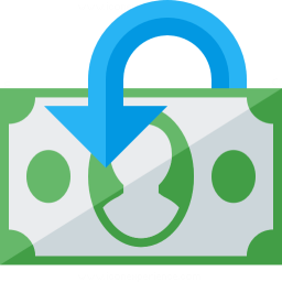 Money Refund Icon 256x256
