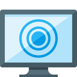 Monitor Touch Icon 256x256