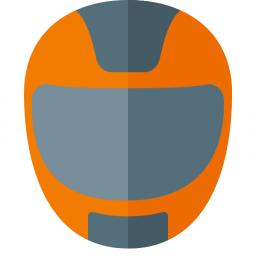 Motorcycle Helmet Icon 256x256