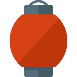 Paper Lantern Icon 256x256