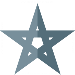 Pentagram Icon 256x256