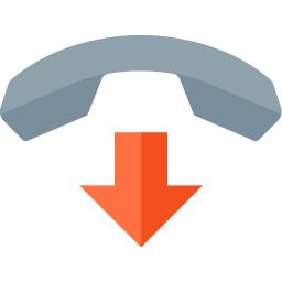 Phone Hang Up Icon 256x256