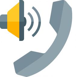 Phone Speaker Icon 256x256