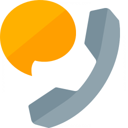 Iconexperience G Collection Phone Speech Bubble Icon