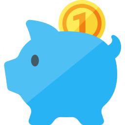 Piggy Bank Icon 256x256
