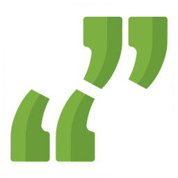 Quotation Marks Icon 256x256