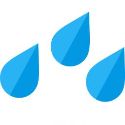 Rain Drops Icon 256x256