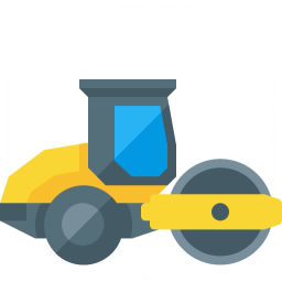 Road Roller Icon 256x256