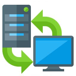 Server Client Exchange Icon 256x256