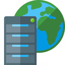 Server Earth Icon 256x256