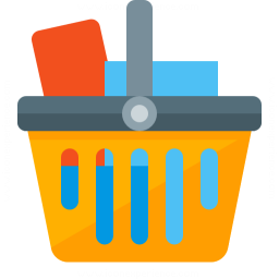 Shopping Basket Full Icon 256x256