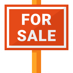Signboard For Sale Icon 256x256