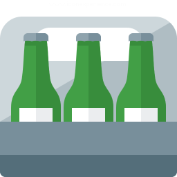 Sixpack Beer Icon 256x256