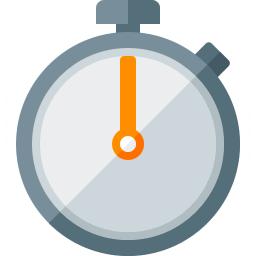 Stopwatch Icon 256x256