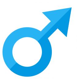Symbol Male Icon 256x256