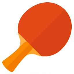 Table Tennis Racket Icon 256x256