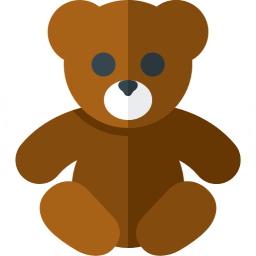 Teddy Bear Icon 256x256