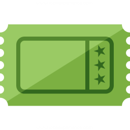 Ticket Icon 256x256