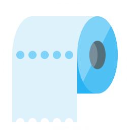 Toilet Paper Icon 256x256
