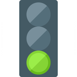 Trafficlight Green Icon 256x256