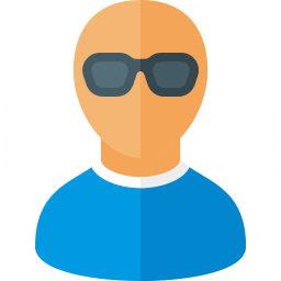 User Sunglasses Icon 256x256