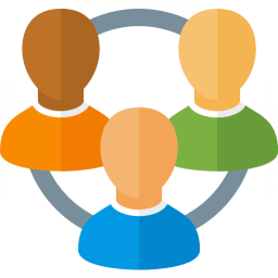 Users Relation Icon 256x256