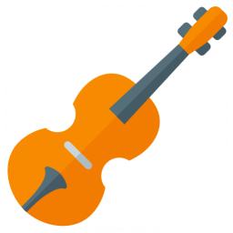 Violin Icon 256x256