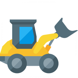Wheel Loader Icon 256x256